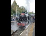 45305 at Shildon Station