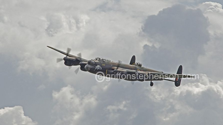 Lancaster Fly By No4