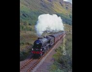 61264 Leaving Glenfinnan