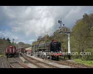 Britannia leaving Goathland
