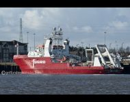 Fugro Galaxy at Royal Quays Tyneside