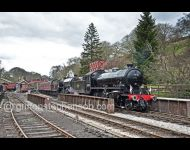 K1 & B1 as Impala at Goathland