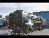 70013 Oliver Cromwell at Shildon