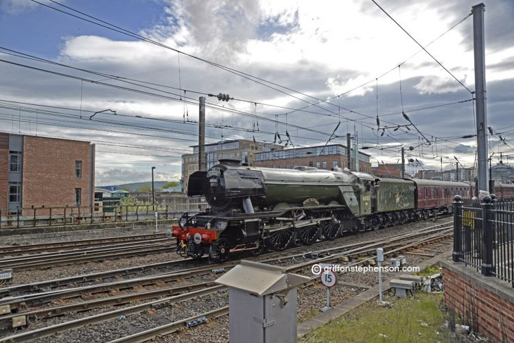Scotsman at Central