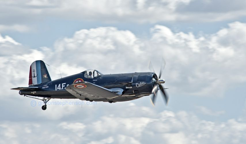 French Navy Corsair   F-AZYS
