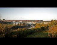 45305 on viaduct near Bedlington