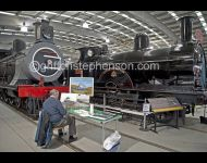 Artist at Shildon