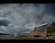 Abandoned Trawler Fassfern