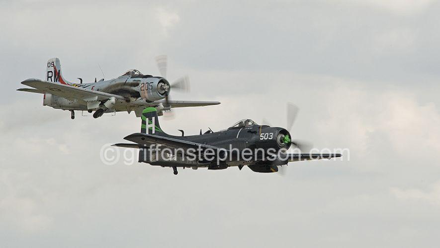 Skyraiders Take off X2