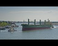 Sanko Mineral with Tugs in assistance