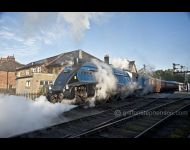 60007 leaving Grosmont on Teaks
