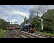 Tornado leaving Goathland No3