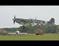 Spit T L B PL344 Landing