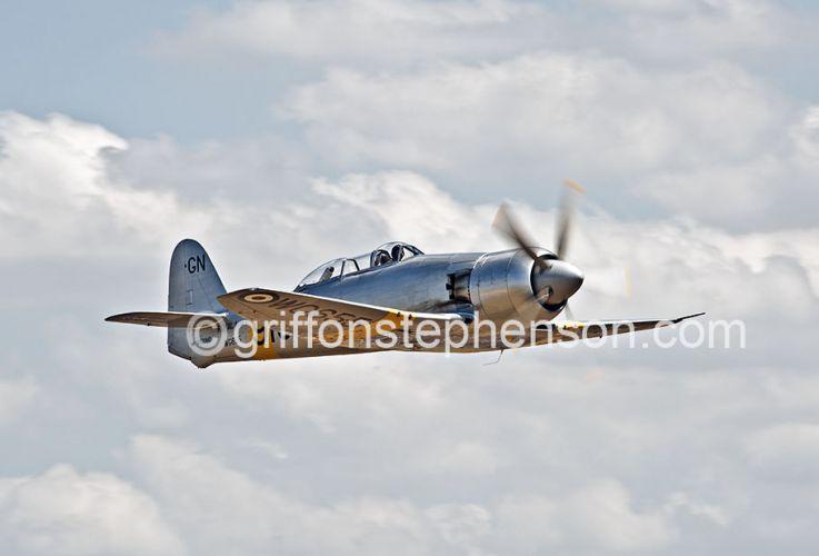 Hawker Sea Fury Trainer