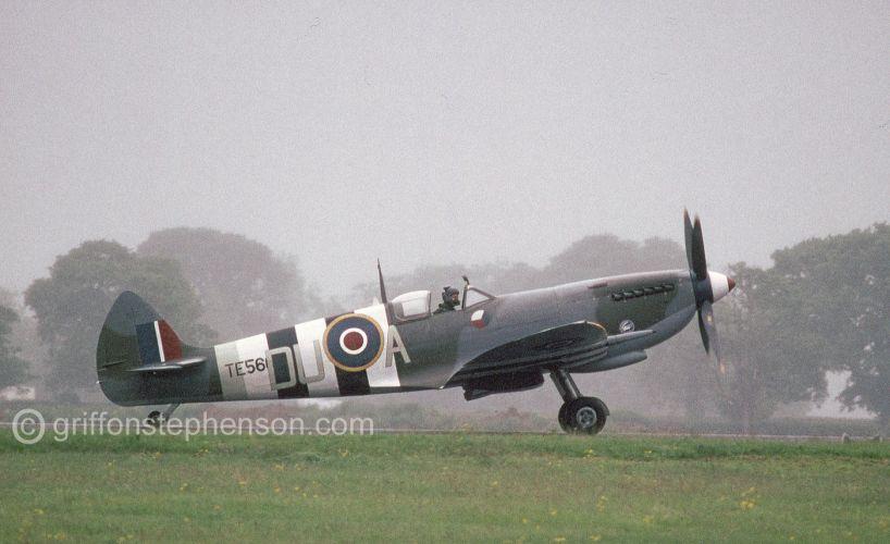 Spitfire T E 566 R A F Leeming
