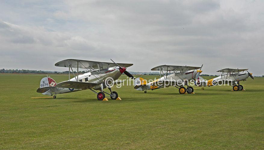 Nimrods x 2 & Hawker Fury