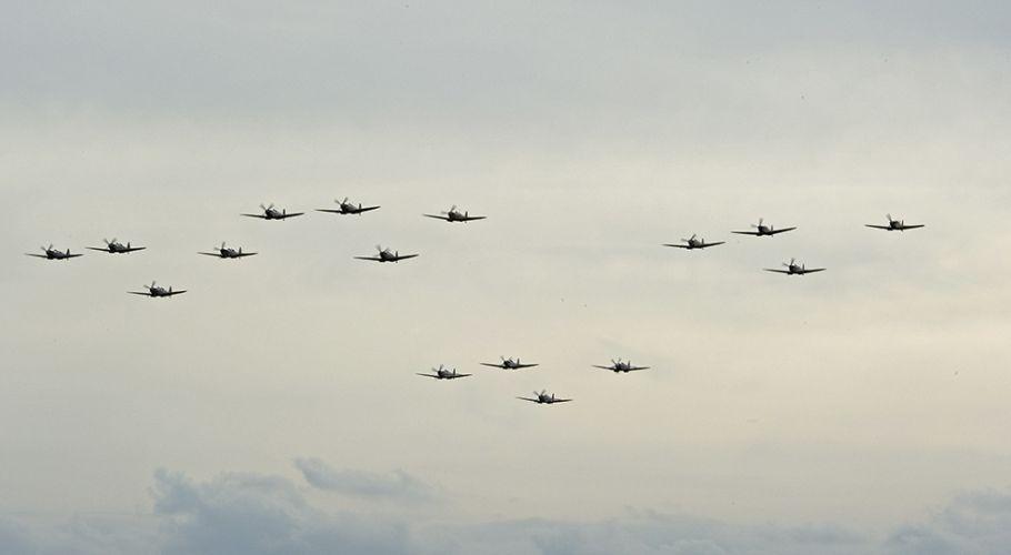 16 Spitfires