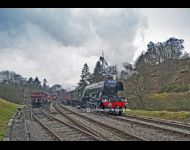 Scotsman enters Goathland.