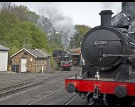 80126 Emerges from Grosmont tunnel copy