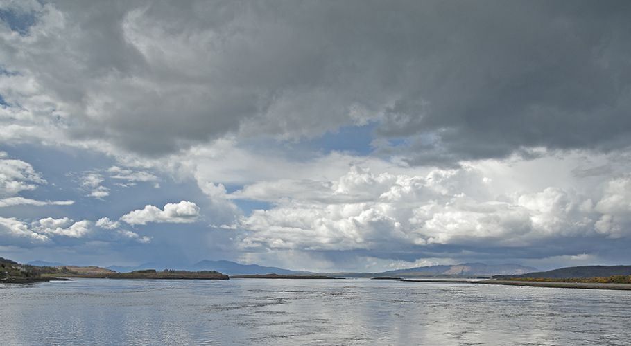 Skyscape to Mull