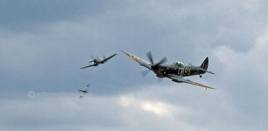 Spitfire Tail Chase.