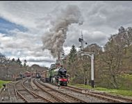 Mayflower departs Goathland