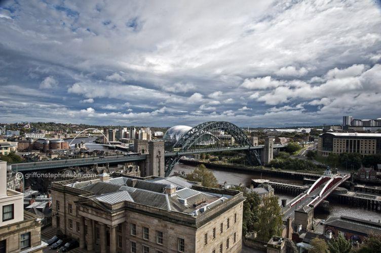Tyneside from Keep