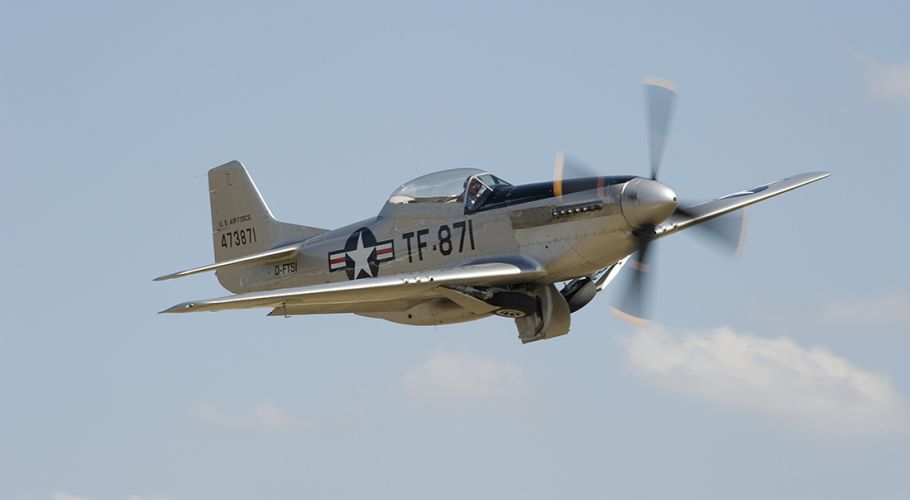 P51 Take Off TF871