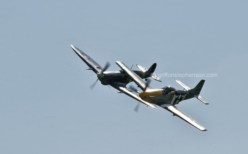 Spitfire & Mustang No 2