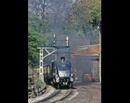 Gresley at Grosmont tunnel