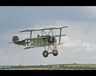 Fokker Triplane take off