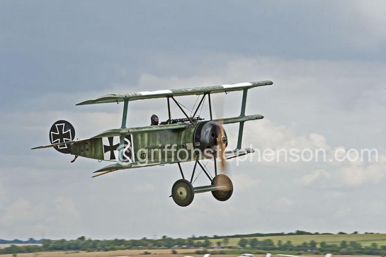 Fokker Triplane take off