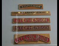 Stephenson Nameplates